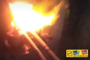 کوره حرارتی با گاز در تولید زانو گرم