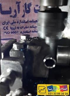 عملیات ماشین کاری در تولید زانو به روش سرد