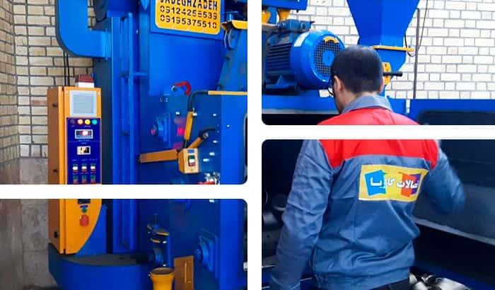 کارخانه تولید اتصالات جوشی گاز