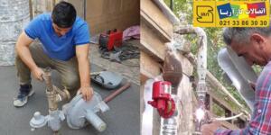 لوله کشی گاز ساختمان | گازکشی ساختمان
